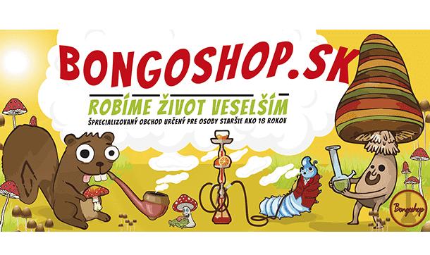 Slovenský e-shop bongoshop.sk je špecializovaný obchod s fajčiarskym, huličským sortimentom pre osoby starčie ako 18 rokov.
