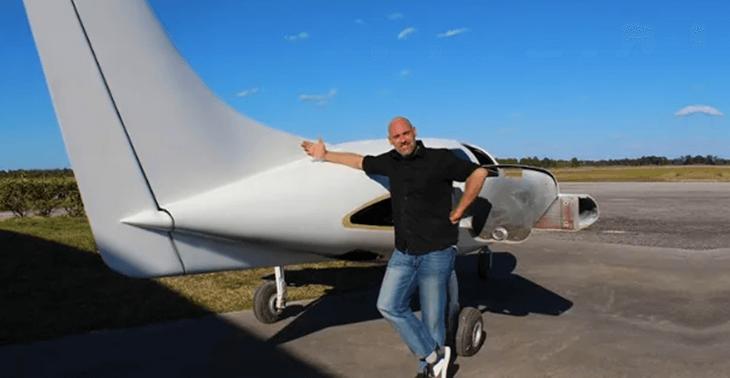 konopné lietadlo