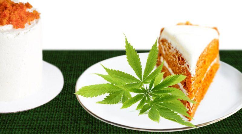 mrkvový koláč s marihuanou